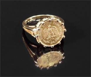 A Coin Ring.