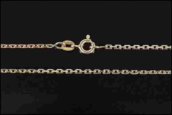 An 18 Karat Yellow Gold Necklace.