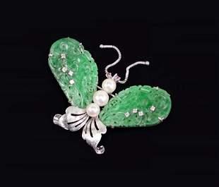 A Butterfly Brooch.