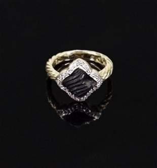 A David Yurman Ring.