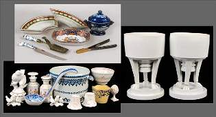 802177 COLLECTION OF MISCELLANEOUS PORCELAIN TABLE ART