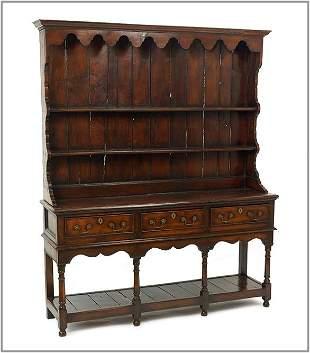 An English Oak Cupboard.