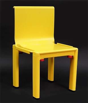 A Kartell Italian Sistema Scuola Child's Chair.