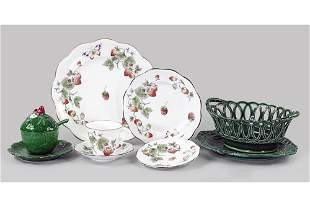 A Coalport Porcelain Table Service.