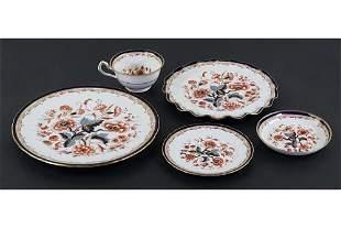 A Royal Crown Derby Porcelain Partial Dinner Service.