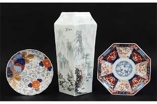 Two Imari Porcelain Dishes.