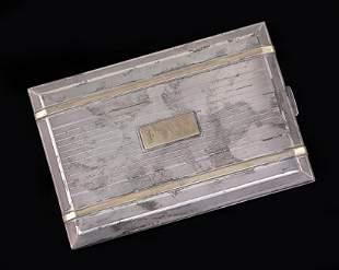 A Watson Cigarette Case.
