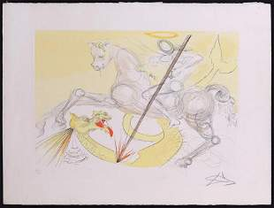 Salvador Dali (Spanish, 1904-1989) St. George and the