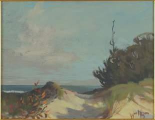 William Nelson (American, B. 1942) Indiana Dunes.