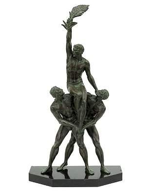 Pierre Le Faguays (French, 1892-1935) Trophee.