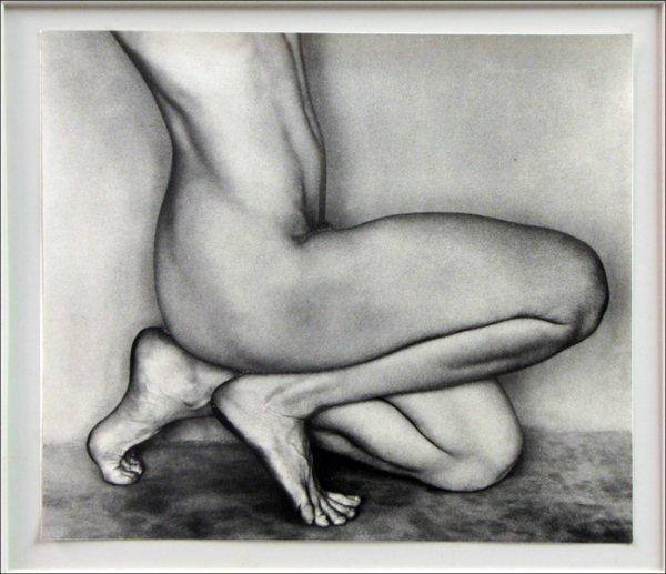 846021: EDWARD WESTON (AMERICAN 1886-1958) NUDE, 62N.