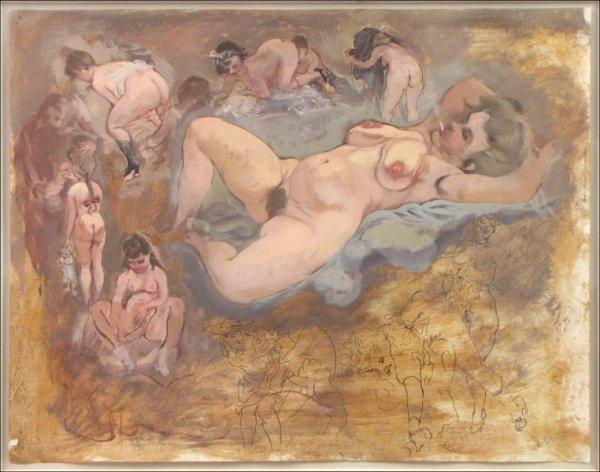 846066: GEORGE GROSZ (1893-1959) EROTIC FIGURES.