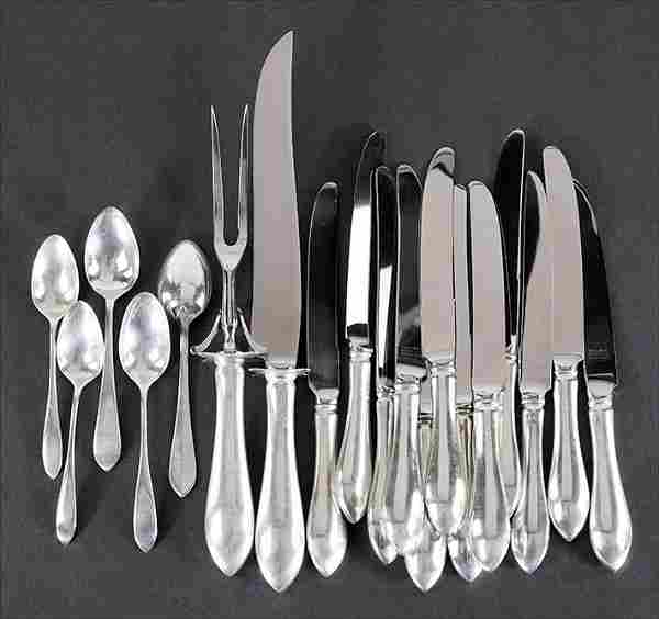 A Reed & Barton Sterling Silver Partial Flatware