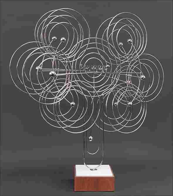 Joseph Burlini (American, B. 1937) A Kinetic Sculpture.