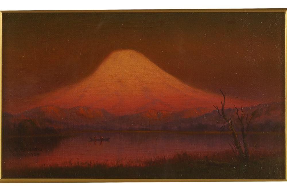 James Everett Stuart (American, 1852-1941) Sunset Glow