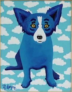 George Rodrigue (American, 1944-2013) It's a Cloud in