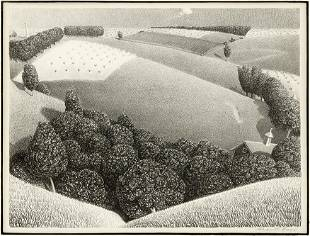 Grant Wood (American, 1891-1942) July Fifteenth.
