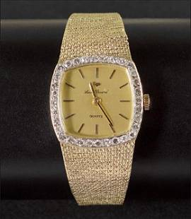 A Lady's Lucien Piccard Watch.