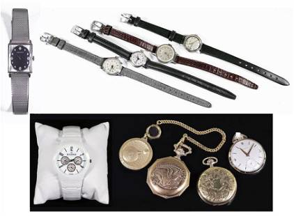 A Collection of Watches.