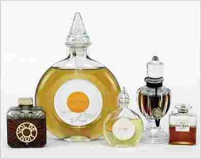 A Collection of Perfume Bottles.