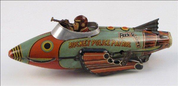 442012: BUCK ROGERS ROCKET POLICE PATROL SHIP.