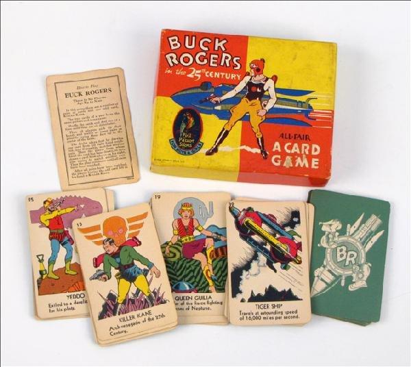 442013: BUCK ROGERS ALL-FAIR CARD GAME.