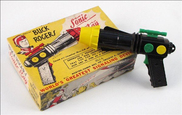 442016: BUCK ROGERS SONIC RAY GUN.