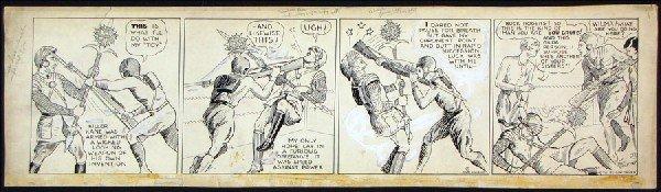 442019: DICK CALKINS, BUCK ROGERS DAILY COMIC STRIP ORI