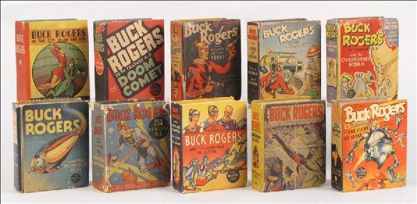 442022: TEN BUCK ROGERS BIG LITTLE BOOKS.