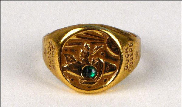 442121: BUCK ROGERS REPELLER RAY RING.