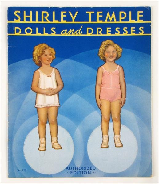 454007: SHIRLEY TEMPLE DOLLS AND DRESSES.