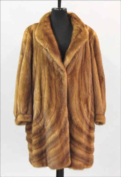 909014: NEIMAN MARCUS NATURAL WHISKEY MINK DIRECTIONAL