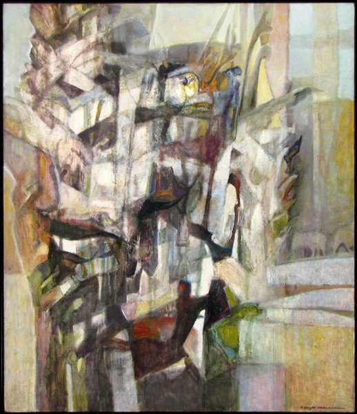 916090: ALICE WRIGHT UHLMANN (AMERICAN 1911-2002) LYRIC