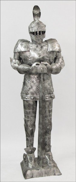 928002: MEXICAN TIN SUIT OF ARMOR.