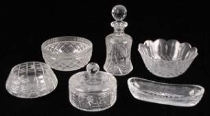 932162 GROUP OF WATERFORD CRYSTAL TABLE ARTICLES