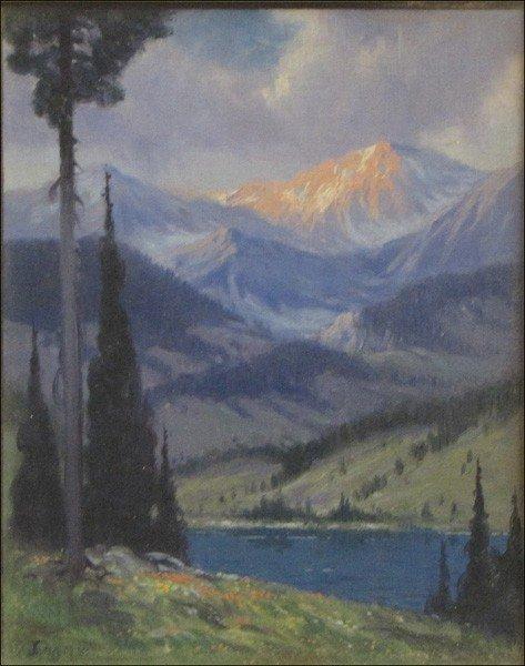 946003: RUDOLPH F. INGERLE (AMERICAN 1879-1950) MOONLIG