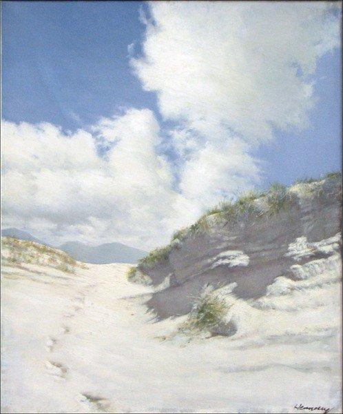 946007: PATRICK HENNESSY (IRISH 1915-1980) FOOTSTEPS IN