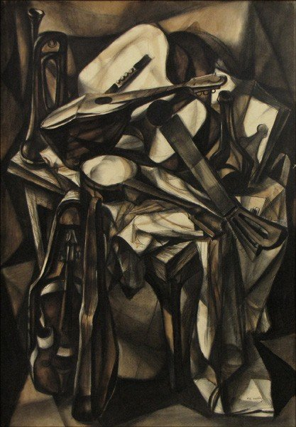 946008: FRANCIS DE ERDELY (AMERICAN 1904-1959) MUSICAL