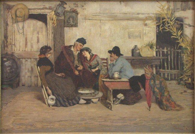 946011: CESARE LAURENTI (ITALIAN 1854-1937) THE UNEXPEC