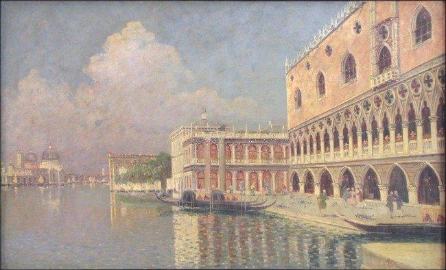 946012: RAFAEL SENET (SPANISH 1856-1926) GRAND CANAL, V