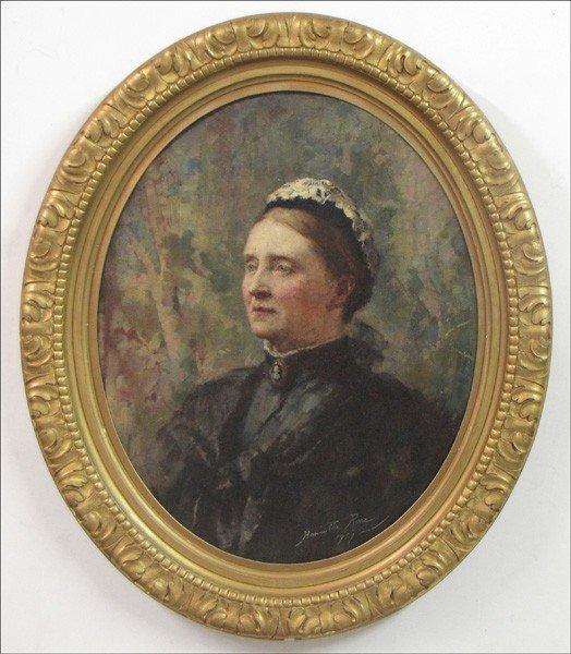 946014: HENRIETTA RAE (BRITISH 1859-1928) PORTRAIT OF A