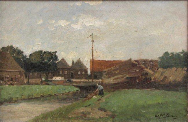946023: WILLIAM GEORGE FREDERICK JANSEN (1871-1949) VIL