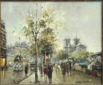 976126: ANTOINE BLANCHARD (FRENCH 1910-1988) BOUQUINIST