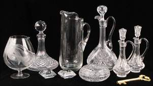 982201 WATERFORD CRYSTAL SHIPS DECANTER