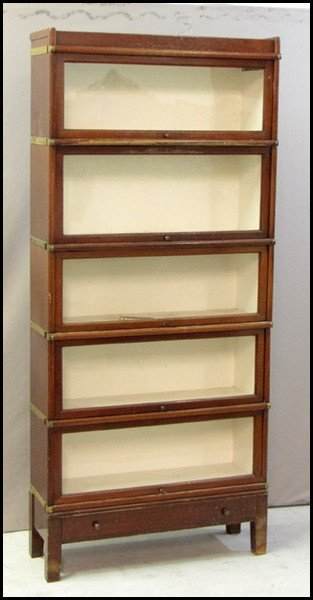 991055: BARRISTER'S STACKING BOOKCASE.