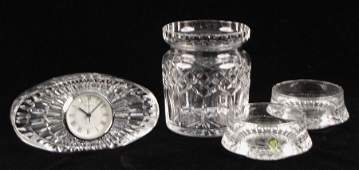 992073 COLLECTION OF WATERFORD CRYSTAL TABLE ARTICLES