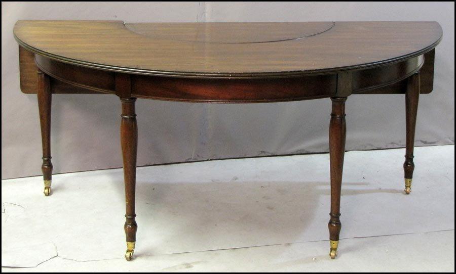 1011001: ENGLISH MAHOGANY WINE TABLE.