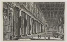 1036014: GIOVANNI BATTISTA PIRANESI (1720-1778) VEDUTA