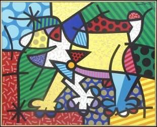 1036109: ROMERO BRITTO (BRAZILIAN, B.1963) THE SWEDISH