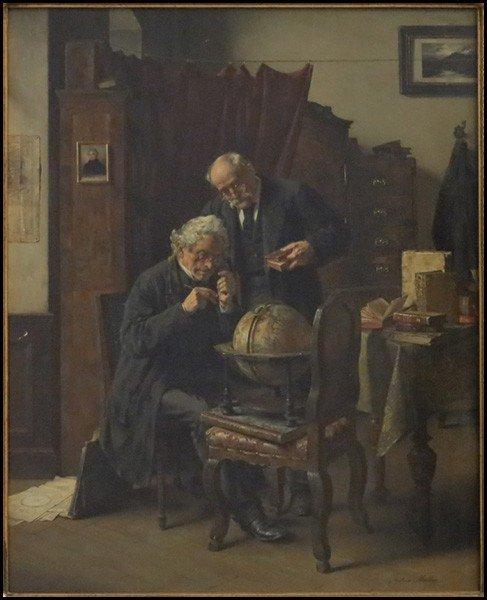 1056032: ANTON EDUARD MULLER (AUSTRIAN 1853-197) THE AC